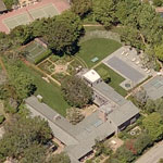 Actor Dustin Hoffman's Brentwood Mansion