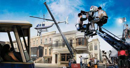 NBC Universal Studios – Movie Studio Tour