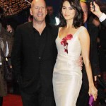 Bruce Willis and Emma Heming Premiere