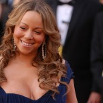 Mariah Carey at Academy Awards Red Carpet