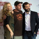 Adam Sandler with Funny People Team