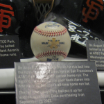 Barry Bonds 756 Homerun Ball