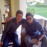 Charlie Sheen and Alexander Hartman