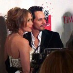 Jennifer Lopez and Marc Antony on Red Carpet