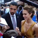 Jessica Alba at Fantastic Four Premiere