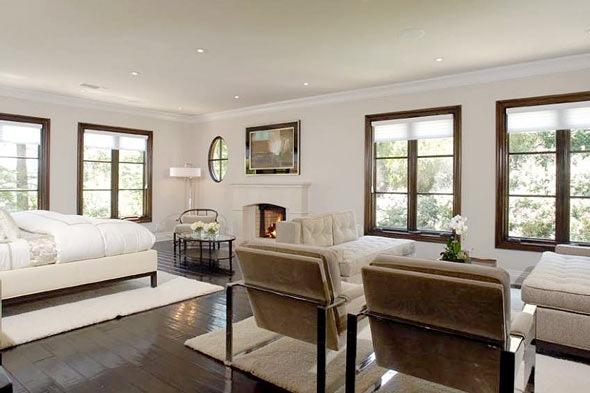 Kim Kardashians Master Bedroom