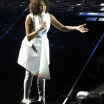 Whitney Houston Concert in 2010