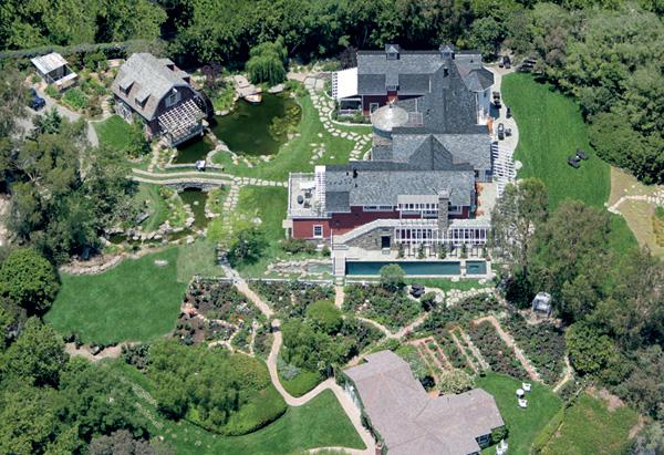 Barbra Streisand House Endearing Of Barbra Streisand's House Photo