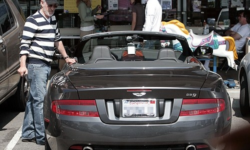 Steven Spielberg Aston Martin DB9  Celebrity News: Steven Spielberg Pacific Palisades Home Steven Spielberg Aston Martin DB9