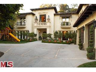 Britney Spears House Beverly Hills Driveway