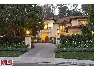 Britney Spears House Beverly Hills Exterior