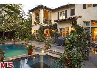 Britney Spears House Beverly Hills Pool