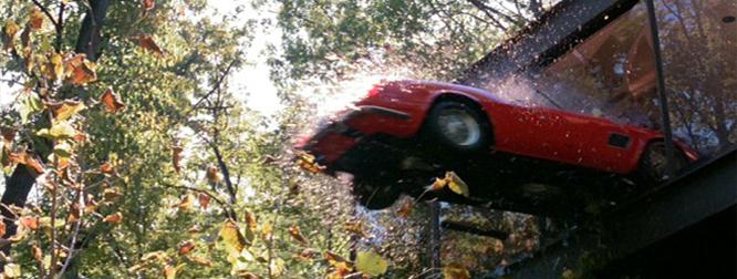 Ferris Bueller Ferrari Crash Scene