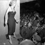 Marilyn Monroe Actors Perform For Troops