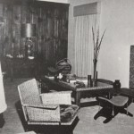 Marilyn Monroes living room 1960