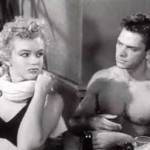 Marilyn Monroe and Keith Andes in Clash by Night trailer
