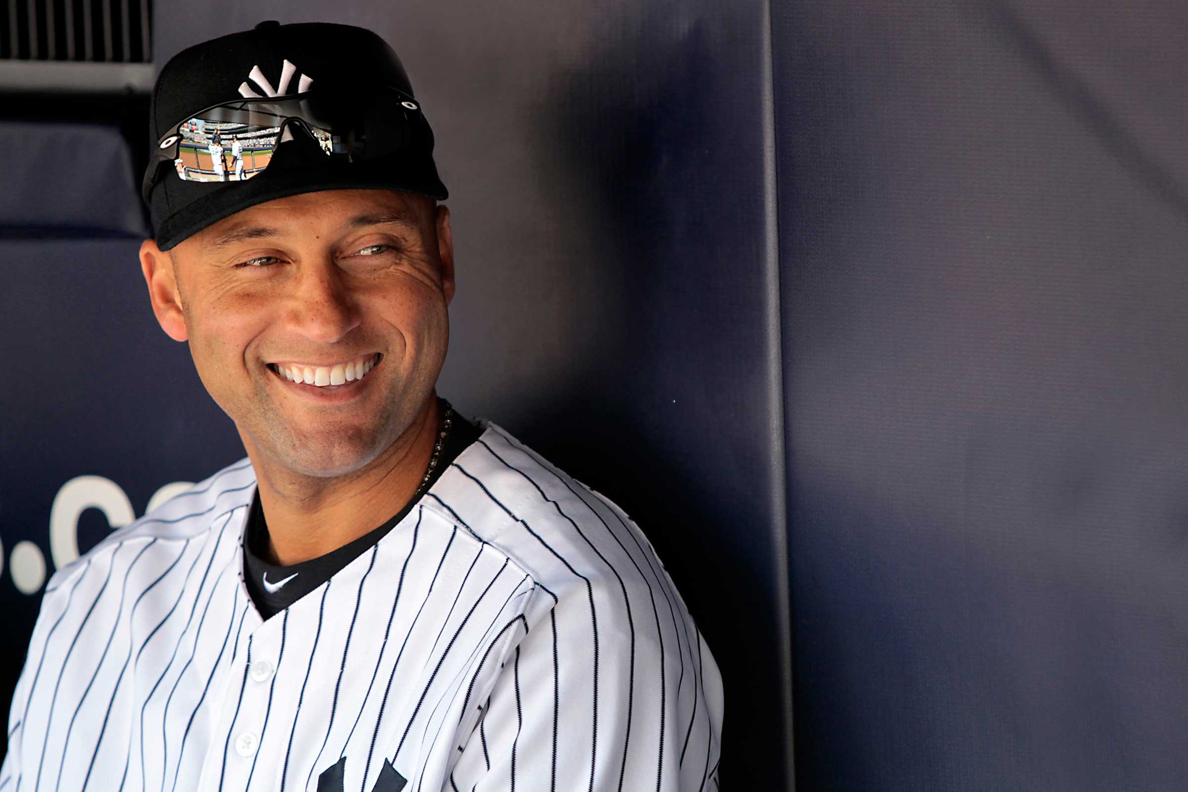 the life and baseball career of derek sanderson jeter Introduction by conventional measures, 2012 was quite a season for derek sanderson jeter the 38-year old shortstop led the majors in hits (216), was fifth-best in the american.