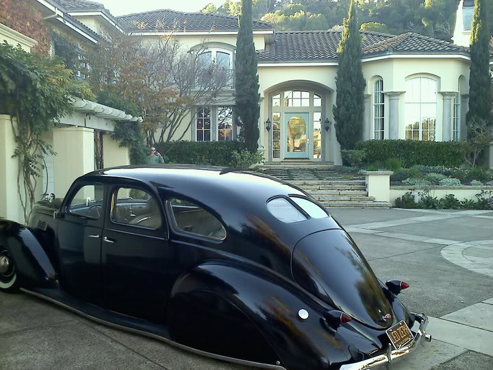 James Hetfield House and Car