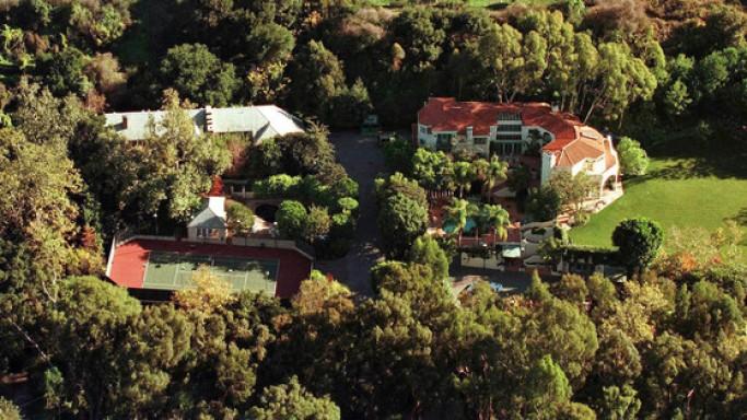 Jim Carrey's Brentwood Estate