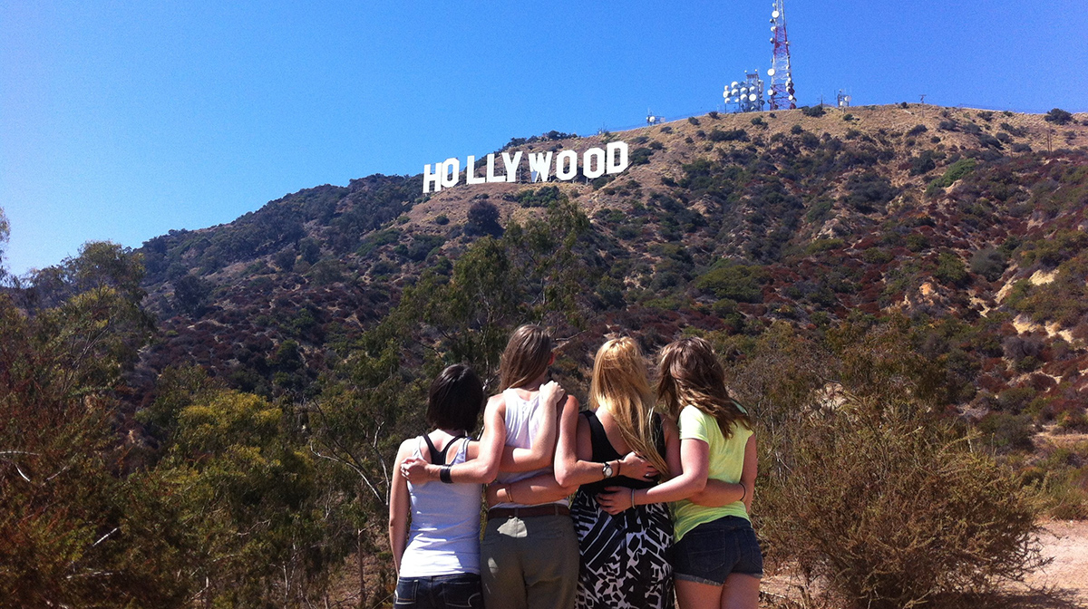 Directions To The Hollywood Sign Star Map Los Angeles