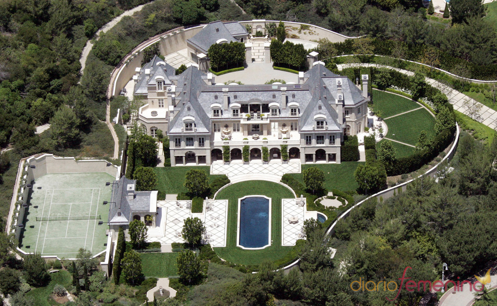 Denzel Washington house in Beverly Hills, California