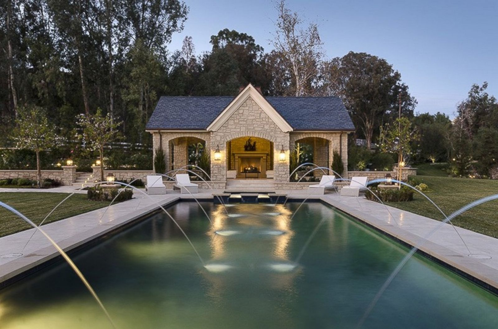 Inside kim and kanye 39 s 20 million hidden hills estate for Home estate