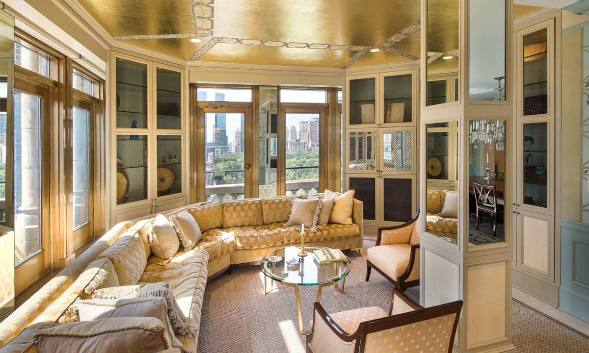 7 most expensive penthouses in the u s starmap for Luxury penthouses in manhattan