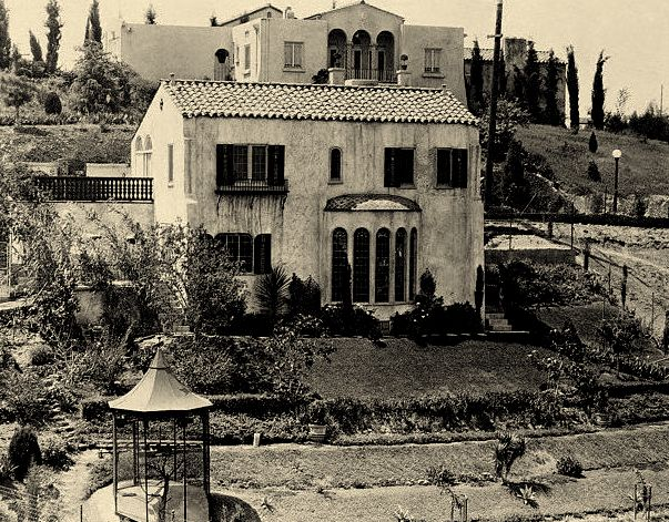 Falcon Lair Rudolph Valentino House Star Map Los Angeles