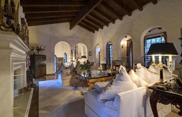 Johnny Depp Hollywood Hills Mansion Star Map Los Angeles