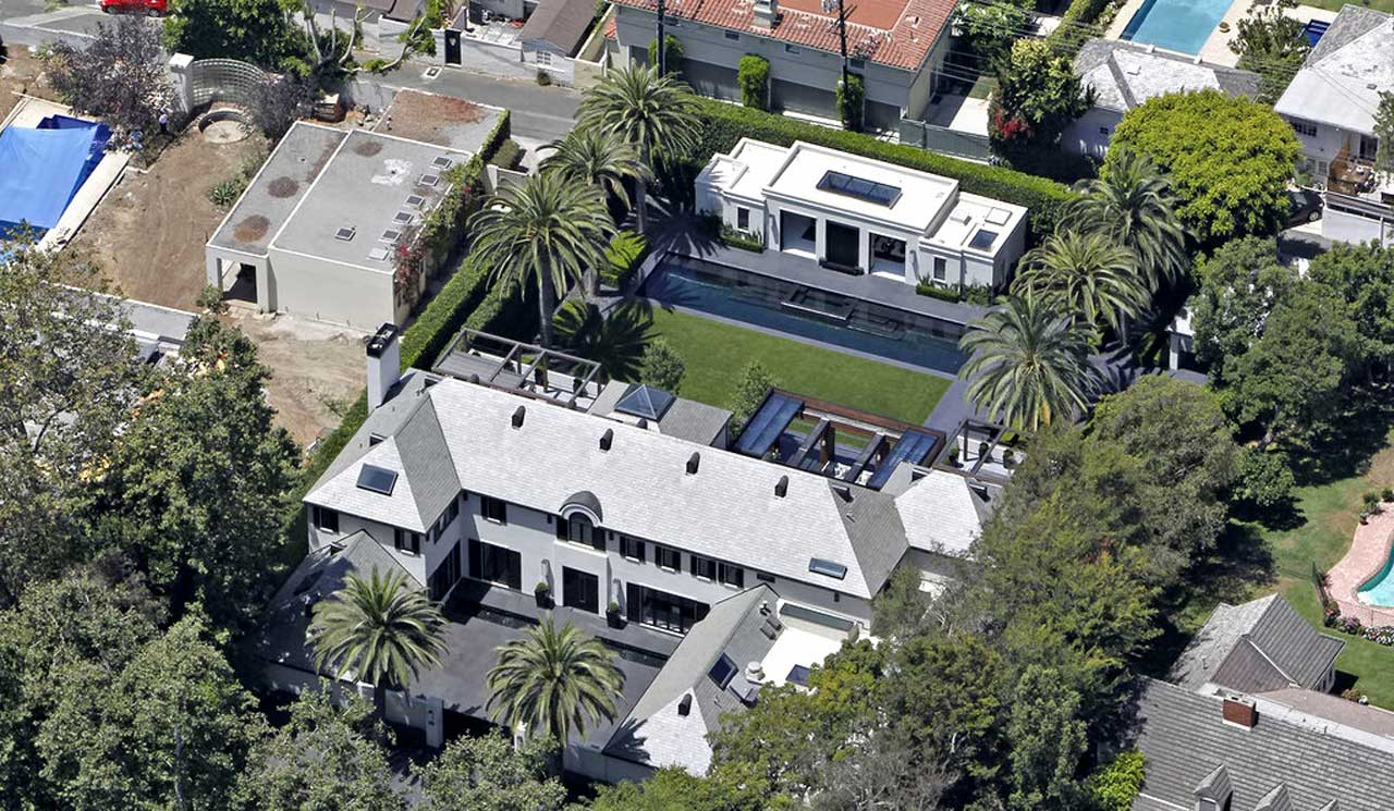 Simon Cowell House in Beverly Hills California|Star Map ...