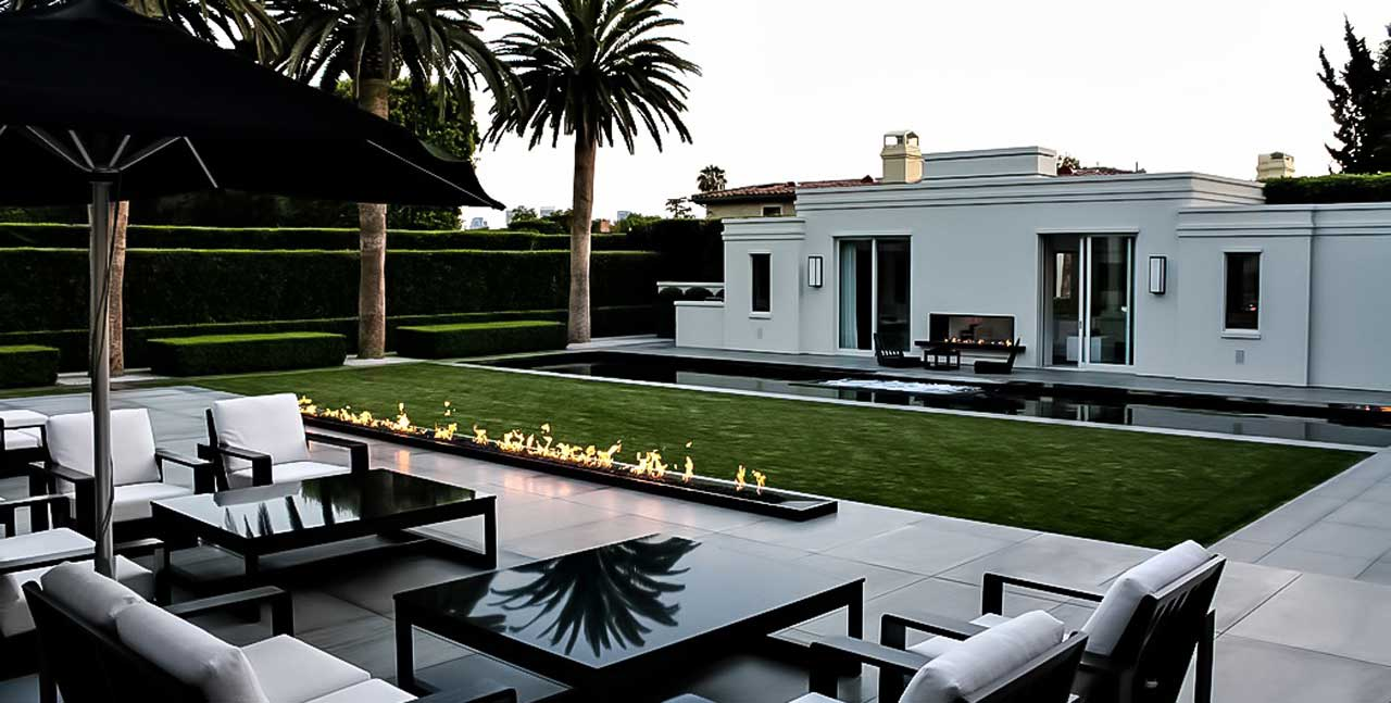 Simon Cowell House in Beverly Hills California